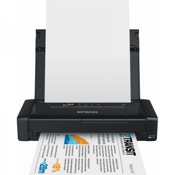 Imprimante mobile Jet d'encre Epson Workforce WF-100W (C11CE05403)