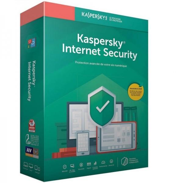 Kaspersky Internet Security 2020 - 1 Postes / 1 An